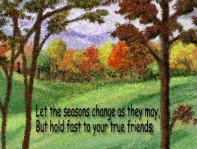let the seasons